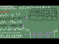 Fórmula para solucionar la ecuación cúbica parte 2
