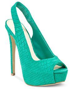 Steve Madden Women's Shoes, Aidin Platform Pumps - First Look: Spring 2013 - Shoes - Macy's