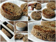 Cinnamon Raisin Two Minute Muffin | healthylivinghowto.com #glutenfree #lowcarb #dairyfree
