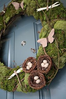 Countdown to Spring: Front Door Decor ~ Carissa's Creativity Space