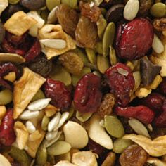 Ideas for Healthy Trail Mix