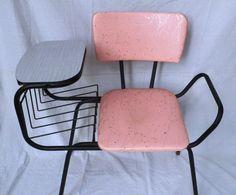pink retro telephone bench