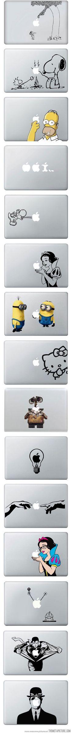 MacBook Vinyl Decals