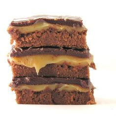 Turtle brownies!! I know I won't make them. I just like to look at them and think about them.