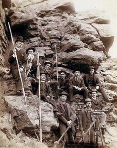 Deadwood Central Railroad Surveyors