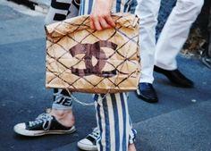 Chanel #fashion #streetstyle #SS14