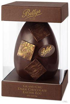 Bettys #chocolate Easter egg via bettys.co.uk PD