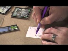 The video features instruction on basics such as using resists, paper cutters and making paper look antique, tons of ideas for how to use pieces of artistic journaling and finished projects that are sure to inspire. Preview here now, then visit http://ArtistsNetwork.tv for access to the full-length video.