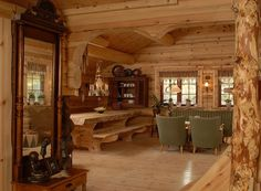 Oh I love log cabins