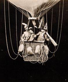 Georges Méliès magia del, stars, lost film, la magia, films, hot air balloons, georg méliè, 1906, del cine
