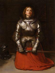 Joan of Arc - John Everett Millais