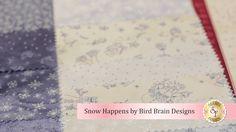 Snow Happens by Bird Brain Designs for Maywood Studio