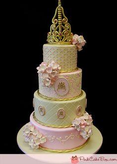 Princess tiered cake!