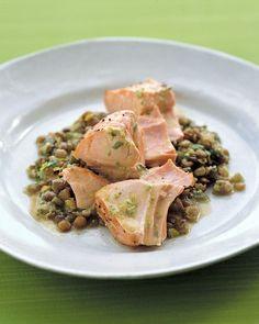 Roasted Salmon With Lentils - Martha Stewart Recipes