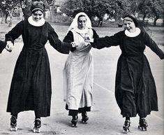 skating nuns
