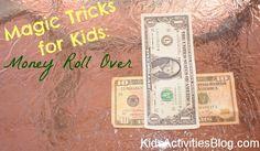 Magic Tricks for Kids: Money Roll Over