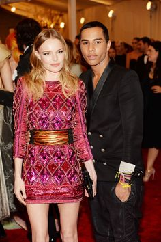 2013-MET-Costume-Insitute-Gala-Kate-Bosworth-and-Olivier-Rousteing