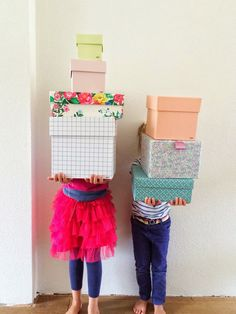 DIY cover-up shoeboxes