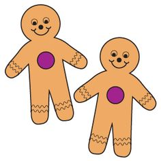 Gingerbread Pairs: Make a class supply of pairs of gingerbread man cutouts, making sure each pair is distinct. Distribute half of each and look for the matching Gingerbread