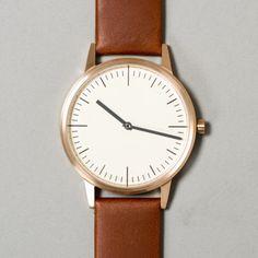 Uniform Wares Series 150 watches - Wood Wood