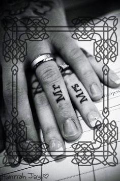 tattoo ideas, ring tattoos, ring finger, wedding tattoos, finger tattoos