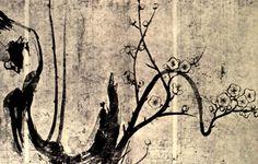 Flowering Plum Tree by Ogata Korin