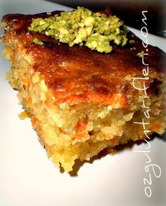 Havuçlu Fındıklı Şambali Tatlısı recipe - Foodista.com