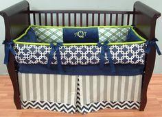 Gorgeous Authentic ModPeaPod Baby Crib Bedding Set custom Modern Plush