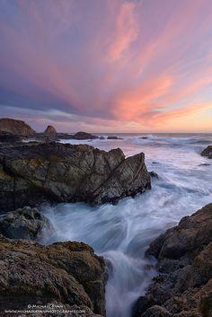 Premonition: Sonoma Coast State Beach by Mike Ryan