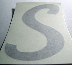 """""""S"""" for Serro Scotty Window Cover"""