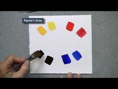 Buying your First Tubes of Watercolor Paints warm colors, watercolor paint
