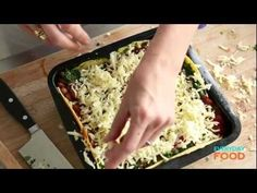 Mexican-Style Lasagna   Everyday Food with Sarah Carey