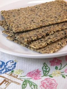 raw oat/flax bread
