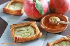 Mini Apples and Honey Tarts