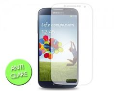 Samsung Galaxy S4 Screen Protector - Anti-Glare http://www.dsstyles.com/news/2013/samsung-galaxy-s4-cases-screen-protectors-pre-order-available.html