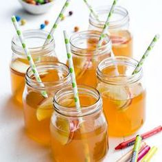 Apple and Ginger Iced Tea - Oh wow!