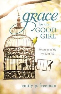 A great book about grace and freedom - love the beautiful detailing on the cage