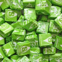 Melon Berry Starburst Candy from Temptation Candy. Green Starburst are like Whoa!