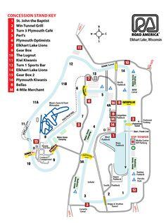 Elkhart Lake's Road America, Inc. | Maps