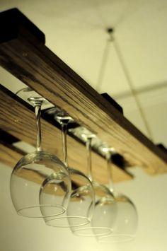 diy ideas, wine racks, design homes, wine glass, glass rack, living room designs, kitchen, old pallets, recycled pallets