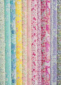Liberty of London floral prints - beyond fabulous!!!!  sigh...