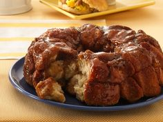 EASY MONKEY BREAD Make with Pilsbury Grands Biscuits.