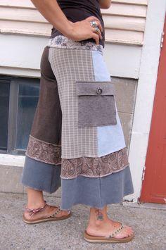 patchwork gauchos