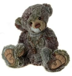 Bamboozle Bear - CB141434  17.5 Inches created in plush, jointed