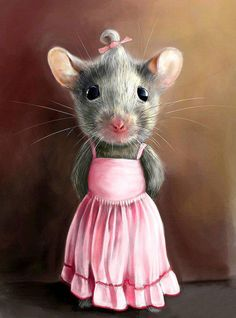 little miss mouse is so cute!