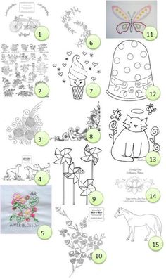 Free hand-embroidery patterns