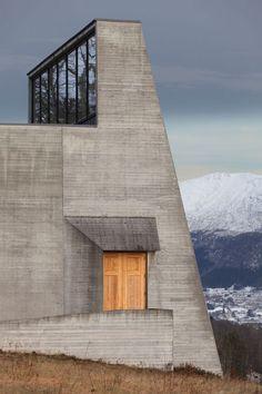 Exteriors: Ivar Aasen Centre - photographed by Sverre Fehn