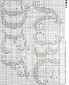 Gráficos de Ponto Cruz e Croché: Setembro 2010