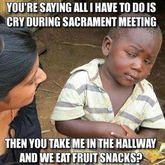 Mormon hall pass