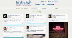 Kulisha, a Pinterest for social commentary.